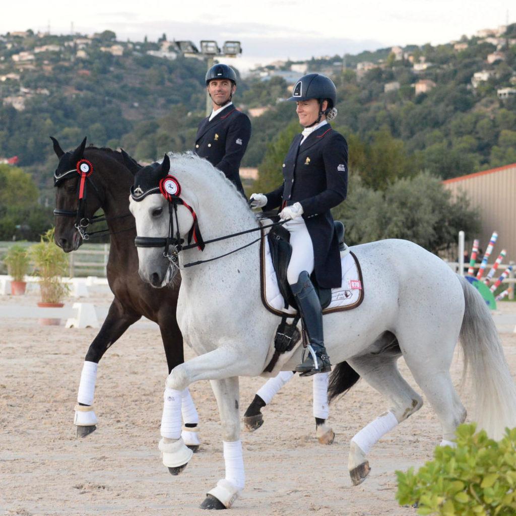 Arnaud et Anne Sophie SERRE - Cavaliers dressage